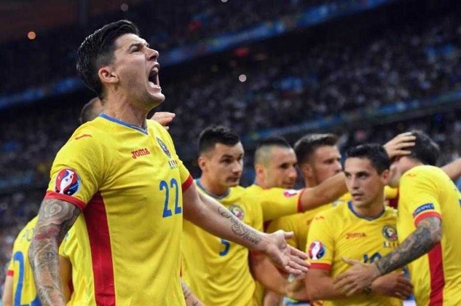 Stancu marcó el gol del empate transitorio para Rumania. (Foto: AFP)
