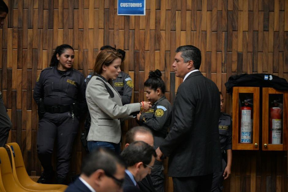 Daniela Beltranena fue señalada por Jair Samayoa como el enlace y la persona que compró las aeronaves. (Foto: Wilder López/Soy502)