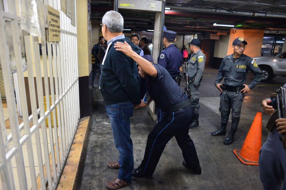 Miguel Ángel Lemus, otro de los señalados en el caso La Línea en revisión del OJ. (Foto: Jesús Alfonso/Soy502)