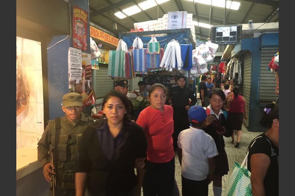 El mercado ubicado en la zona 1 de Mixco está siendo extorsionado. (Foto: Municipalidad de Mixco)