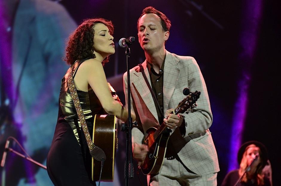 La cantautora guatemalteca compartió con músicos de gran talento. (Foto: Selene Mejía/Soy502)