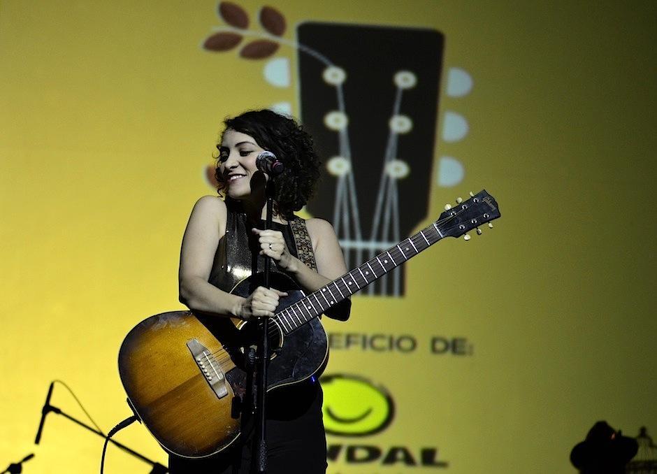 Gaby Moreno agradeció que los guatemaltecos compartan su música. (Foto: Selene Mejía/Soy502)