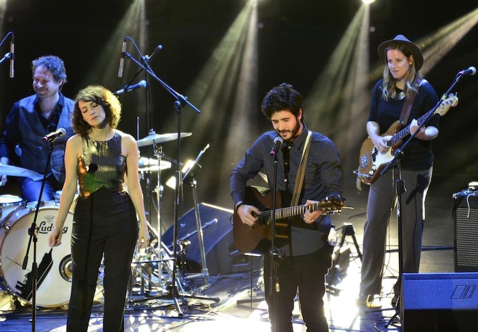 Diego Sanjose de The Hand of Midas compartió un tema con Gaby. (Foto: Selene Mejía/Soy502)