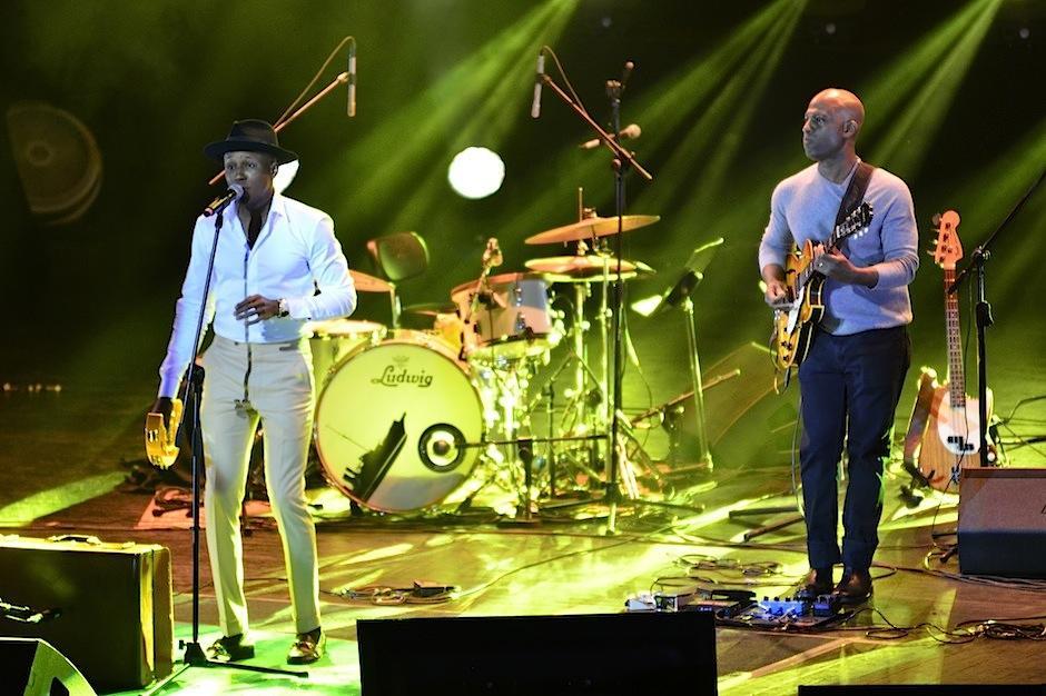Jonny P. sorprendió con su impresionante talento musical. (Foto: Selene Mejía/Soy502)