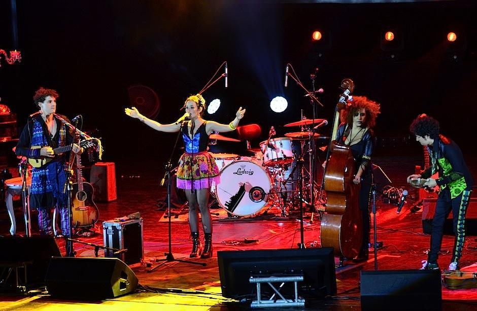 La banda colombiana agradeció la inivtación a nuestro país. (Foto: Selene Mejía/Soy502)