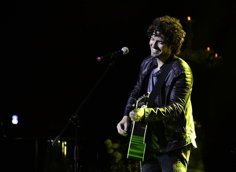 Tommy Torres recibió piropos al ingresar al escenario. (Foto: Selene Mejía/Soy502)