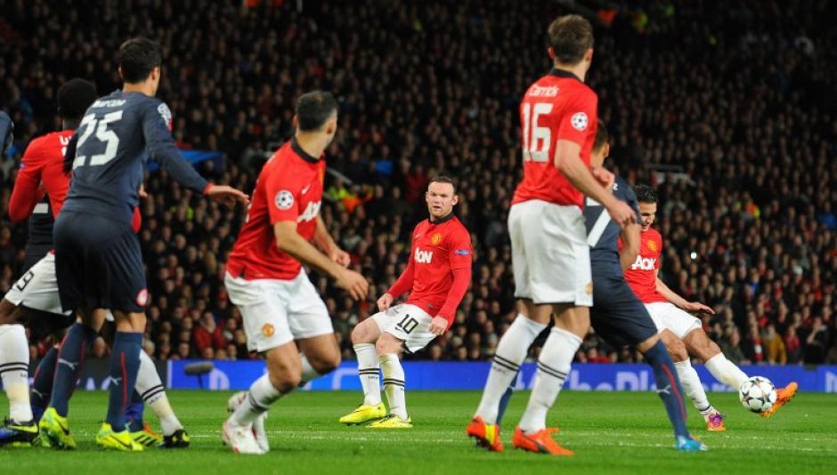 El tercer gol del Manchester United llegó al minuto 51. (Foto: AFP)
