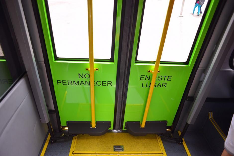 La seguridad no cambia en las nuevas unidades. (Foto: Jesús Alfonso/Soy502)
