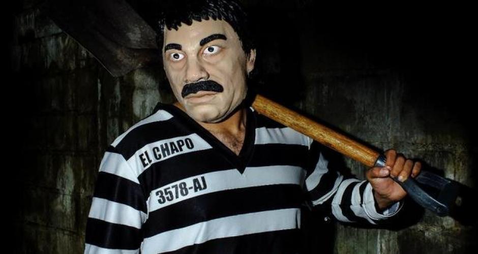 """Disfraz del """"Chapo"""" Guzmán ya se compra por internet para estrenarse en Halloween."""