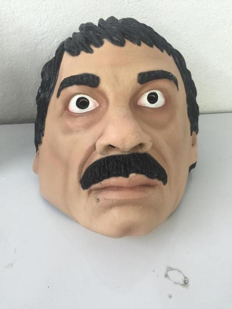 """La máscara disfraz del """"Chapo"""" Guzmán es una de las favoritas para Halloween."""
