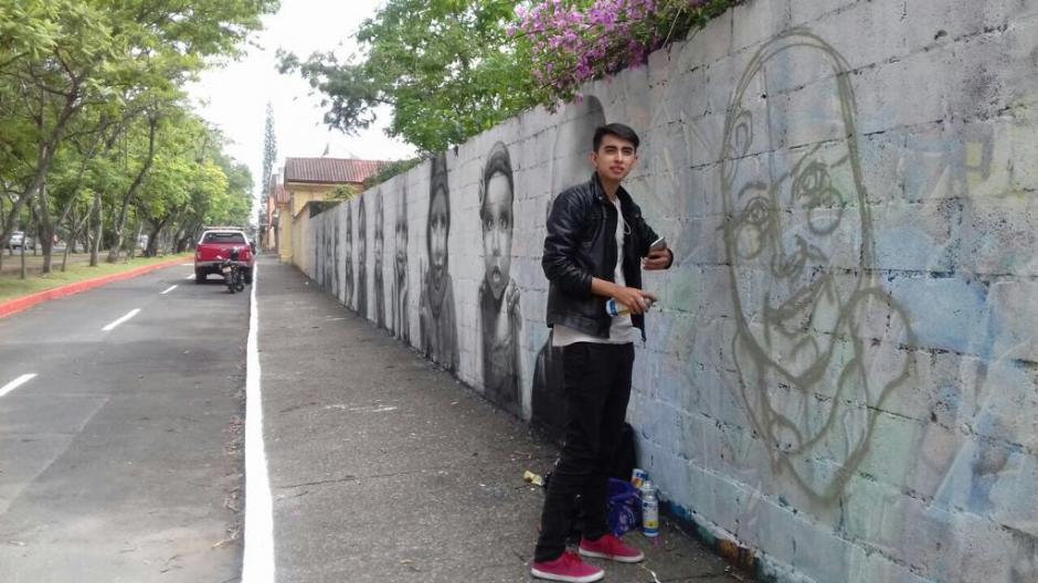 El artista muestra su lado más sensible con estas pinturas urbanas. (Foto: Ziwer)