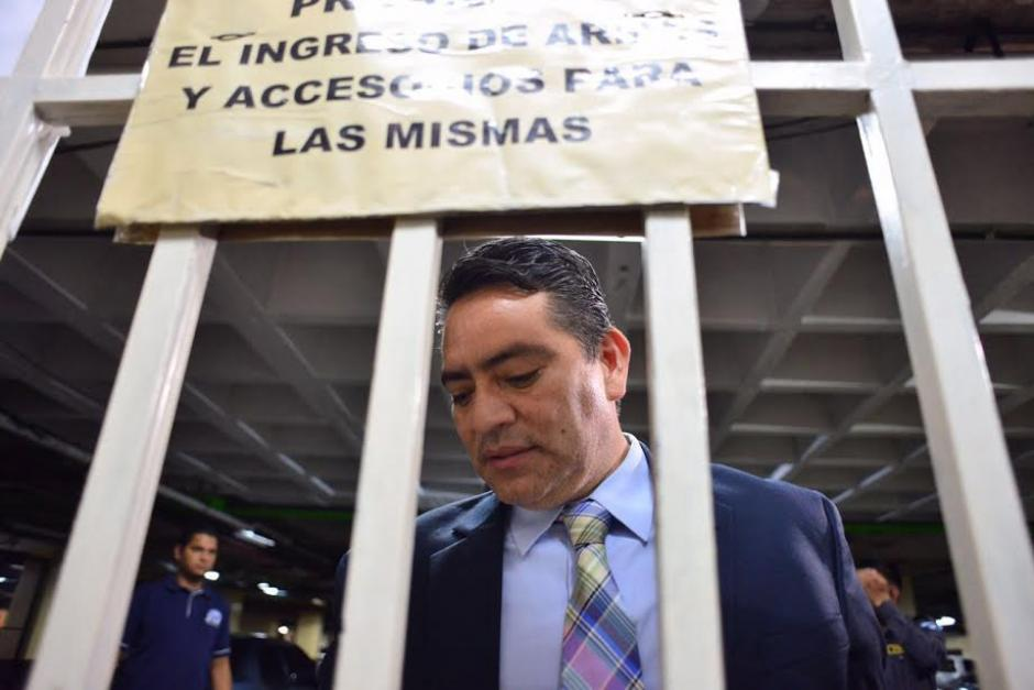 La audiencia de primera declaración se realiza en el Juzgado Décimo. (Foto: Jesús Alfonso /Soy502)