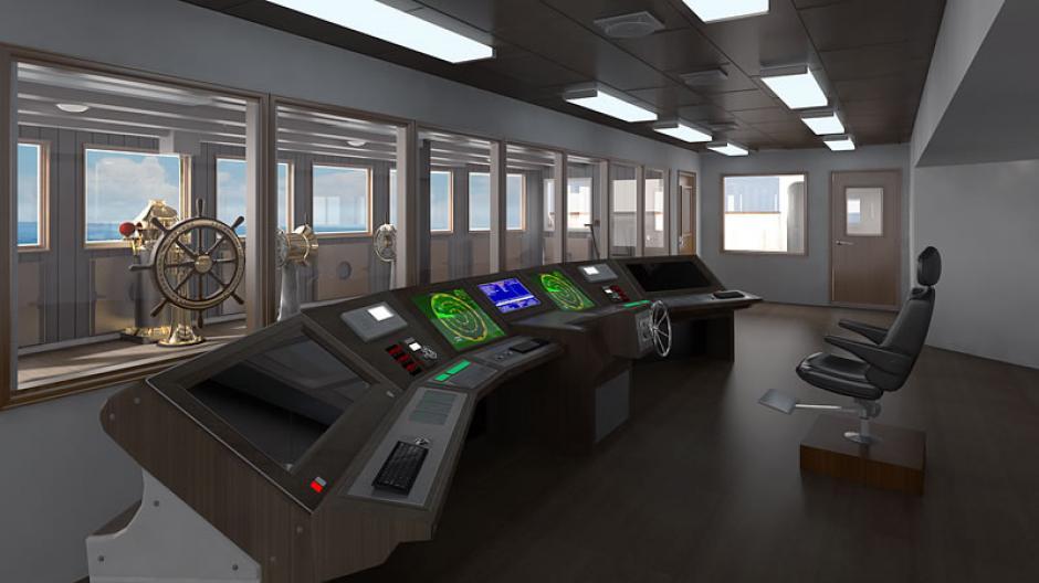 Este será el cuarto de radio y telecomunicaciones del Titanic II (Foto: titanic-ii.com)