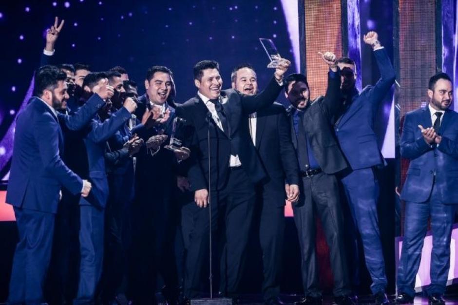 La banda MS ha sido la gran ganadora en la gala de Premios de la Radio 2016.  (Foto: Banda MS)