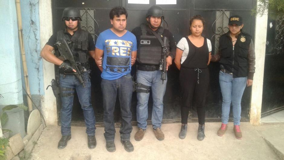 La PNC capturó a tres de los supuestos secuestradores del maestro Deivis. (Foto: PNC)