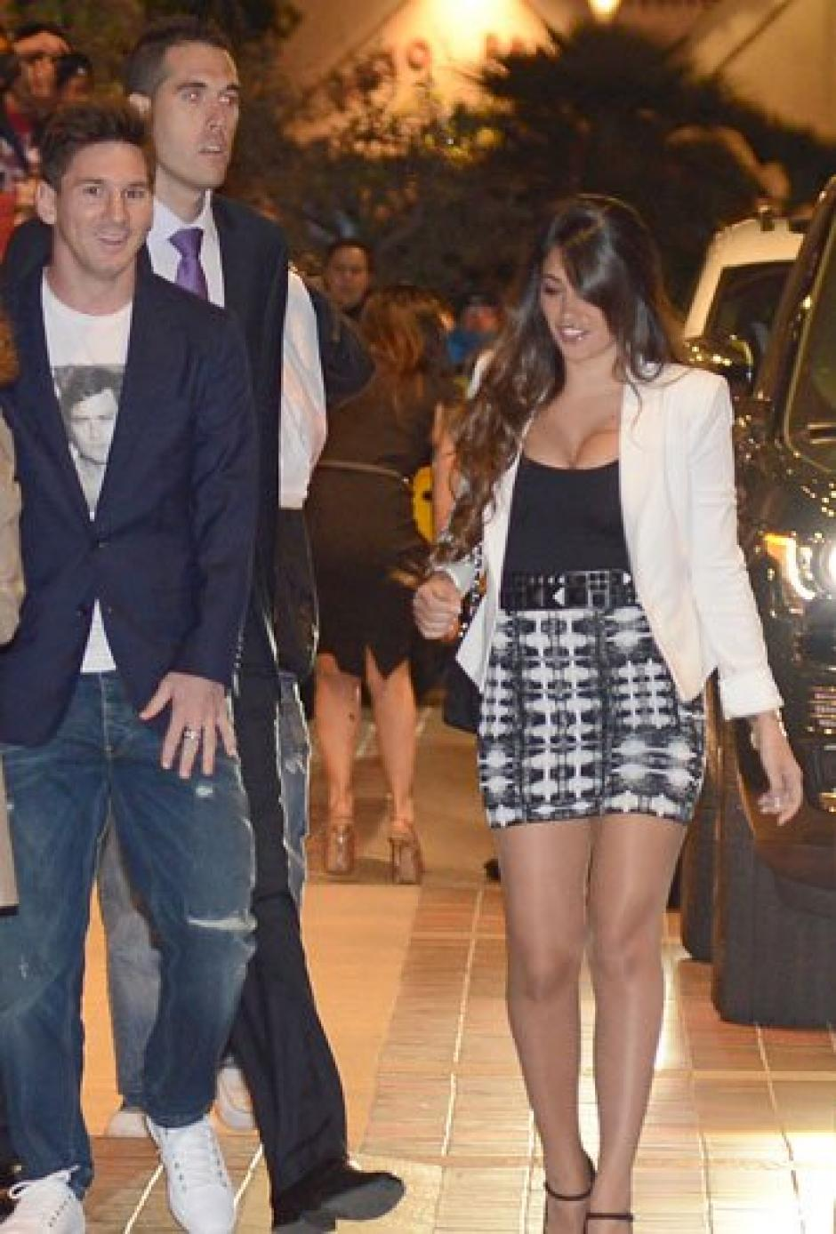 Antonella y Messi siempre acaparan la atención.