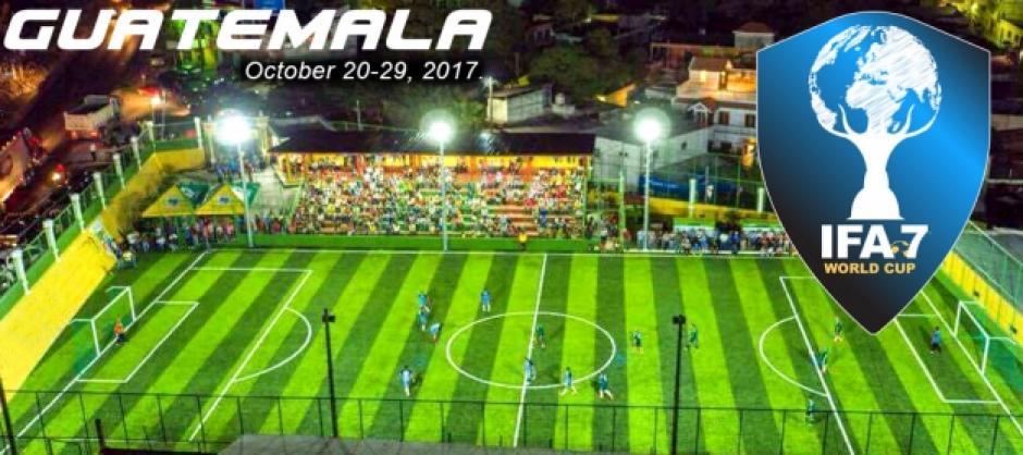 El estadio municipal de Guastatoya albergará el primer Mundial de Fútbol 7. (Foto: IFA7)