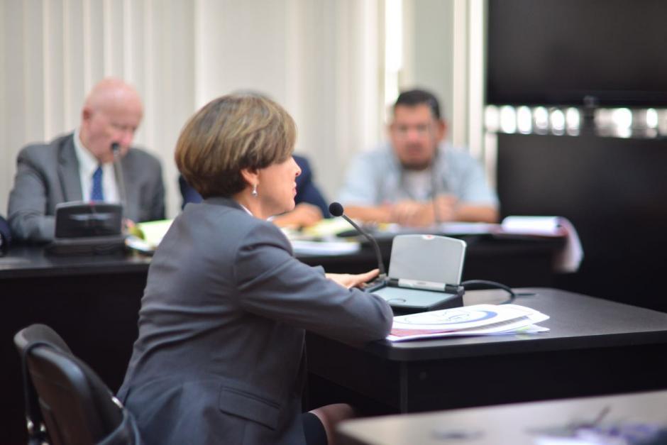 María Antonieta de Bonilla dijo que Vipasa no era parte de Bancafé. (Foto: Jesús Alfonso/Soy502)