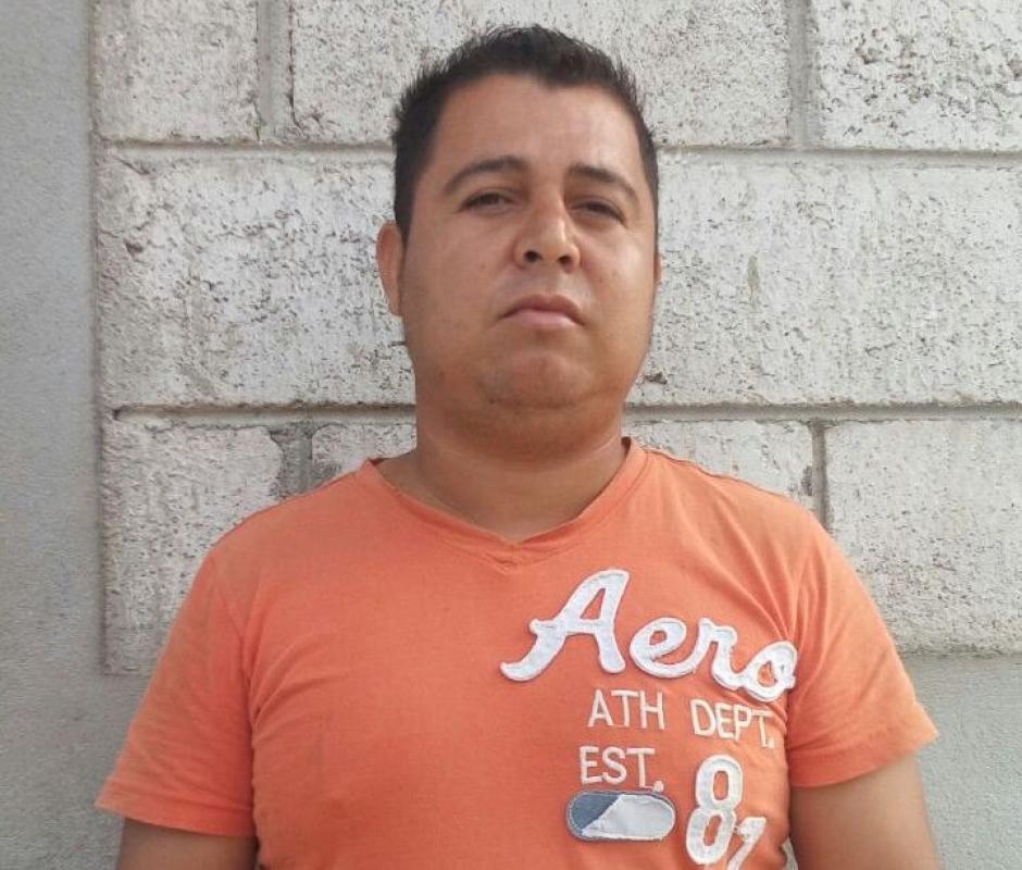 Durante los operativos fue detenido Luis Alfredo Estévez de 29 años. (Foto: PNC)