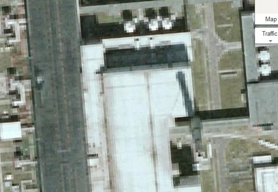 También está vetada la visualización a la planta de energía del campus de la Universidad de Cornell, EE.UU. (Foto: Google Maps)