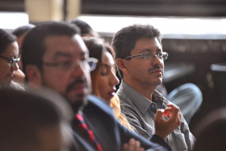 El exjefe de la SAT, Omar Franco, también solicita que el juez le otorgue una medida sustitutiva. (Foto: Jesús Alfonso/Soy502)