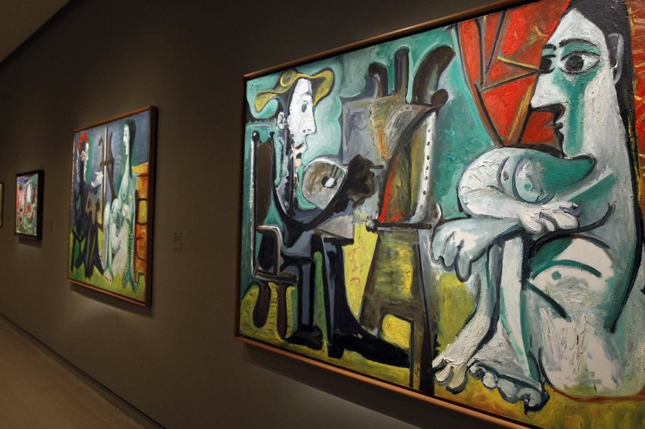 """""""El pintor y la modelo""""; (1963), de Pablo Picasso, se convierte de nuevo en protagonista de la temporada expositiva con la gran muestra que dedica la Fundación Mapfre al artista malagueño. (Foto: EFE)"""