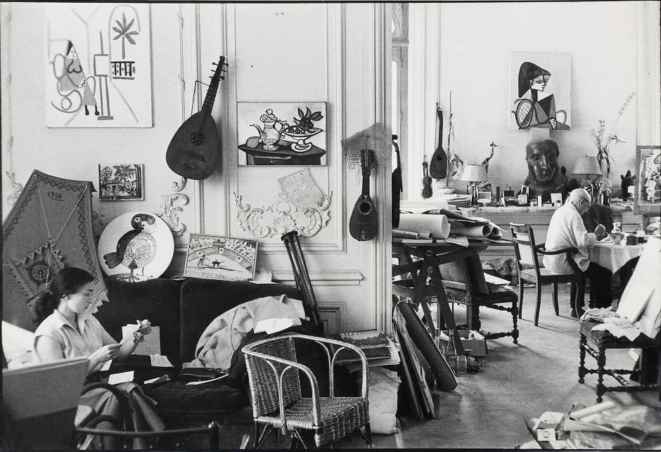 """""""El pintor y la modelo""""; (1963), de Pablo Picasso, se puede contemplar en la gran muestra que dedica la Fundación Mapfre al artista malagueño. (Foto: EFE)"""