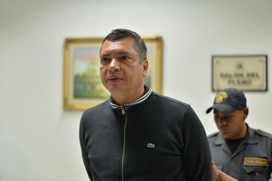 El exsecretario privado de Otto Pérez Molina, Gustavo Martínez está sindicado en varios casos de corrupción.  (Foto: Wilder López/Soy502)