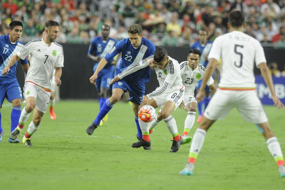 Campollo fue el delantero que jugó los noventa minutos para Guatemala