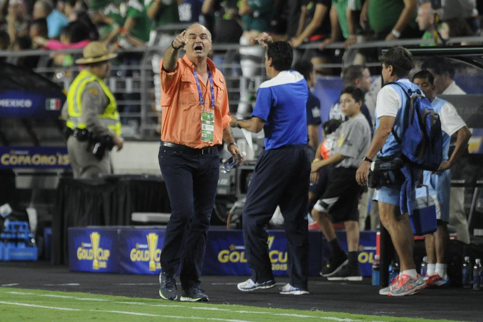Iván Franco Sopegno dirigió ante México uno de sus mejores encuentros de su era como seleccionador de Guatemala. (Foto: Aldo Martínez/Nuestro Diario)