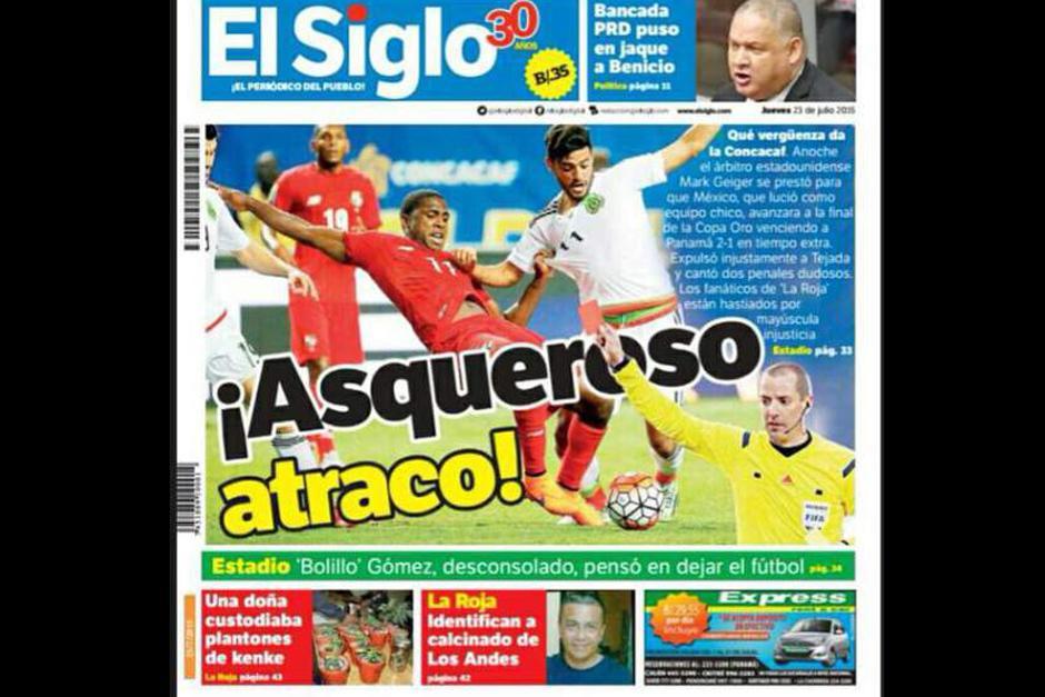"""El Siglo y su """"asqueroso ataque"""". (Foto: diez.hn)"""