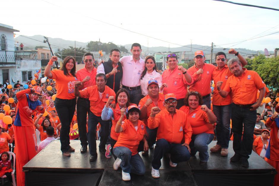 Otto Pérez Leal busca reelegirse en Mixco. (Foto: Alejandro Balán/Soy502)