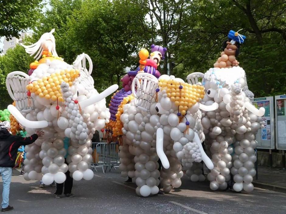 Figuras de elefantes, arañas, ciempiés y otras figuras sorprenderán a los asistentes. (Foto: Municipalidad de Guatemala)
