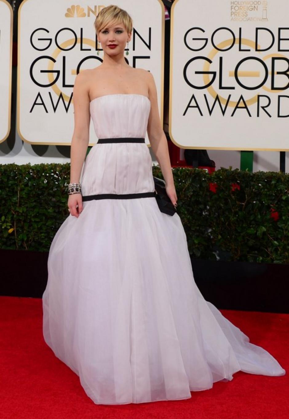 La actriz Jennifer Lawrence. (Foto: AFP)