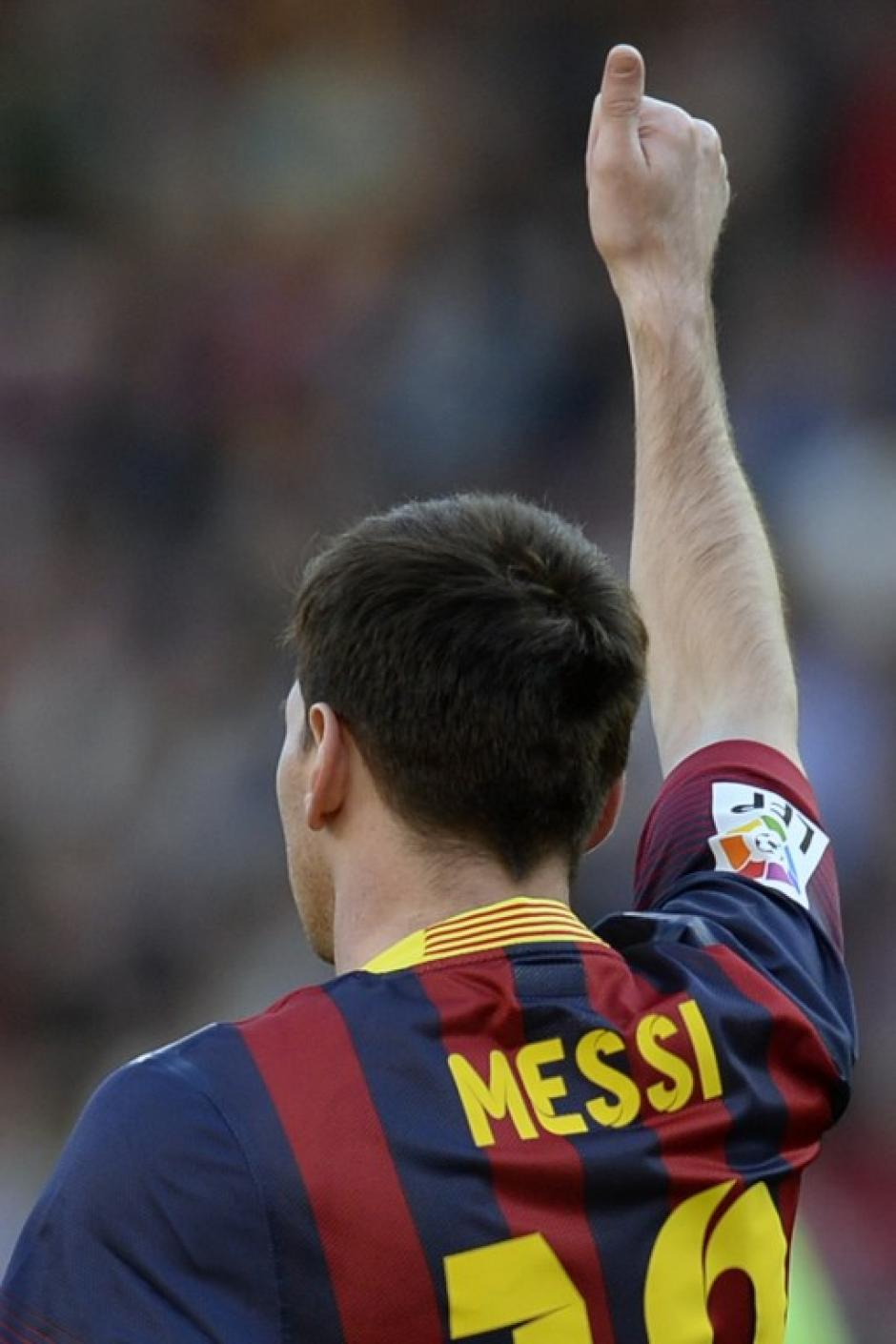 El argentino es el motor del club catalán. (Foto: AFP)