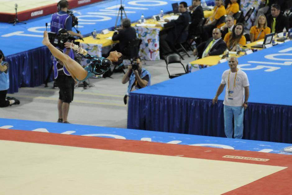 Ana Sofía suma ya tres medallas panamericanas, una de oro, una de plata y una de bronce, en su carrera deportiva