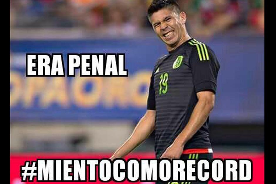 """Oribe Peralta fue objeto de """"memes"""""""