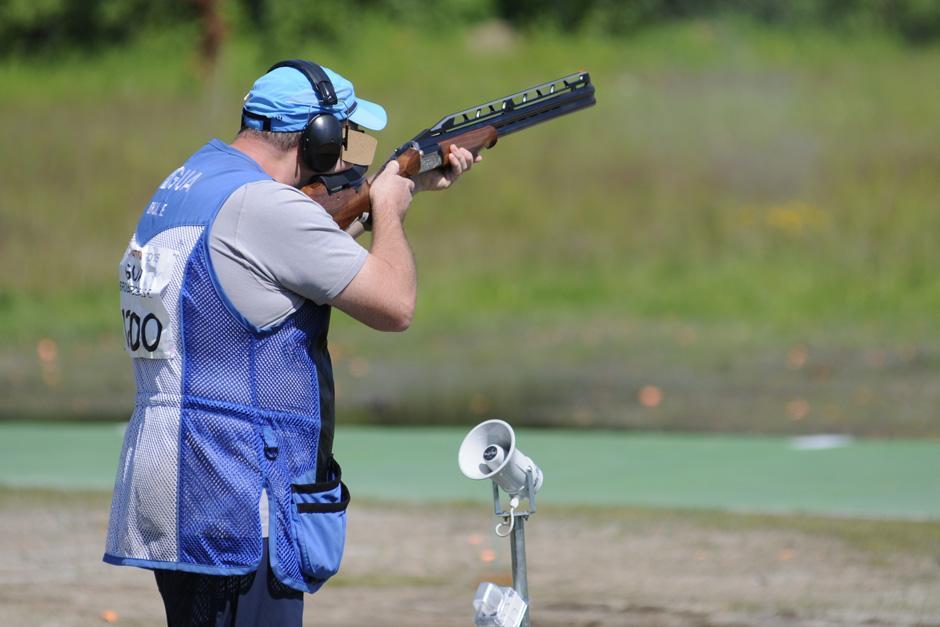 Enrique Brol sumó 125 puntos tras su participación en la primera fase de tiro con foso doble