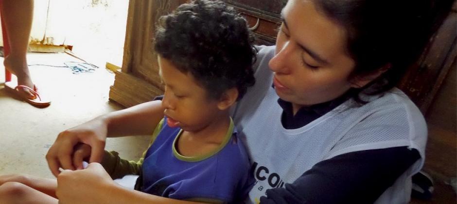 En Ecuador buscan desarrollar herramientas pedagógicas para los niños y jóvenes que tienen trabajos peligrosos. (Foto: América Solidaria)