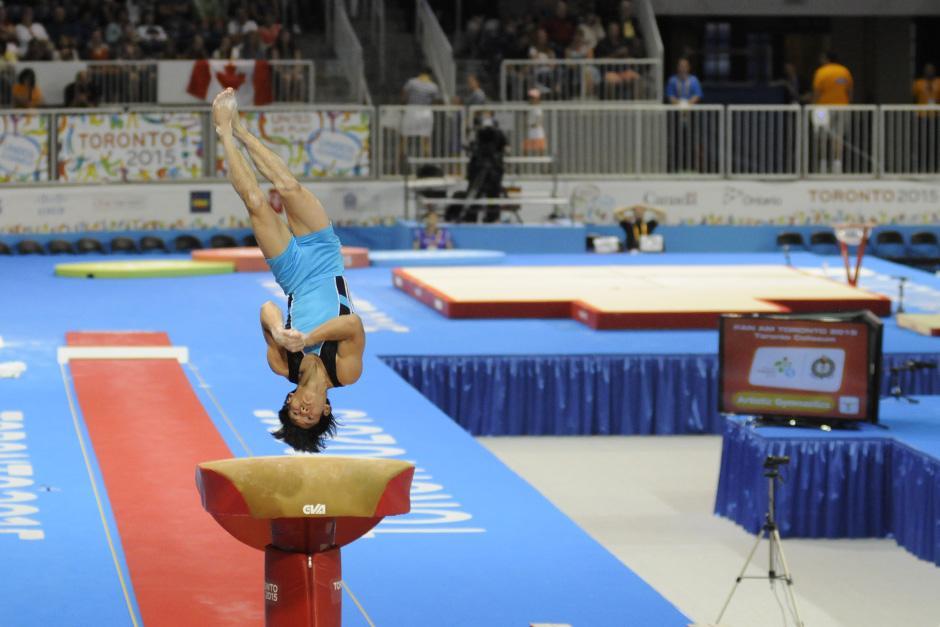 Vega tuvo dos oportunidades en la prueba final de salto al potro