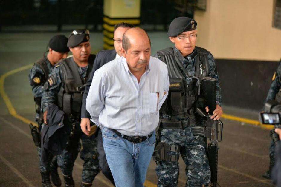 Mañana deberá rendir su primera declaración Alfredo Rabbé.  (Foto: Wilder López/Soy502)