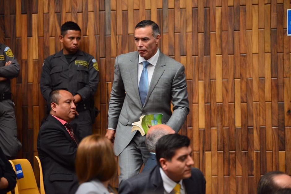 Juan de Dios Rodríguez solicitó que se le otorguen medidas sustitutivas por el caso Cooptación del Estado. (Foto: Jesús Alfonso/Soy502)