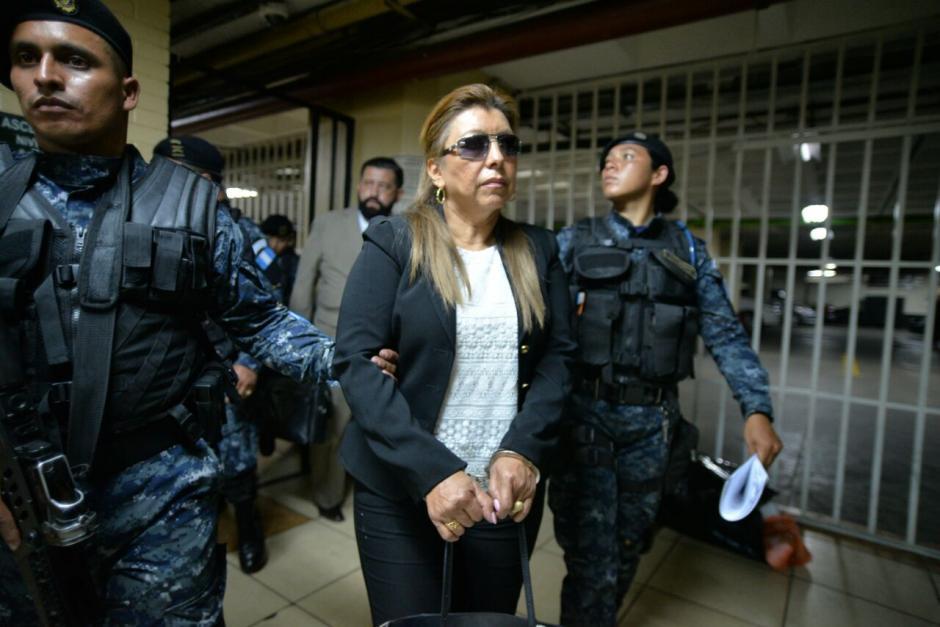 La exfuncionaria fue detenida este jueves señalada de actos de corrupción. (Foto: Wilder López/Soy502)
