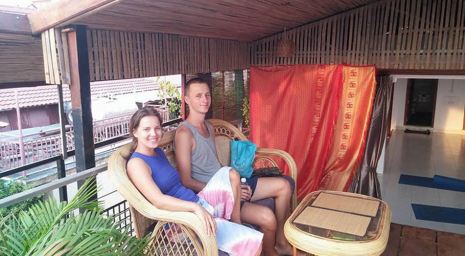 En Camboya durante el voluntariado te ofrecen alojamiento, alimentación y practicar yoga sin ningún costo. (Foto: Ahimsa Academy)