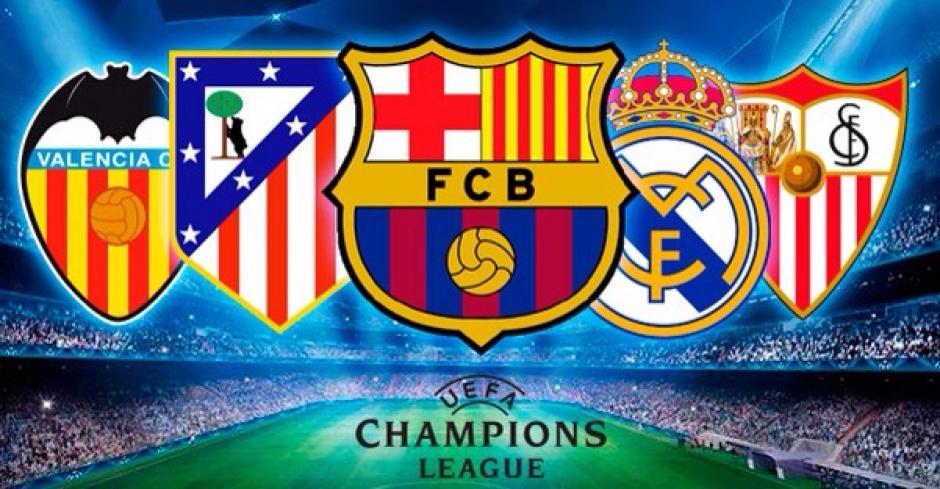 Cinco españoles en fase de grupos de Champions foto