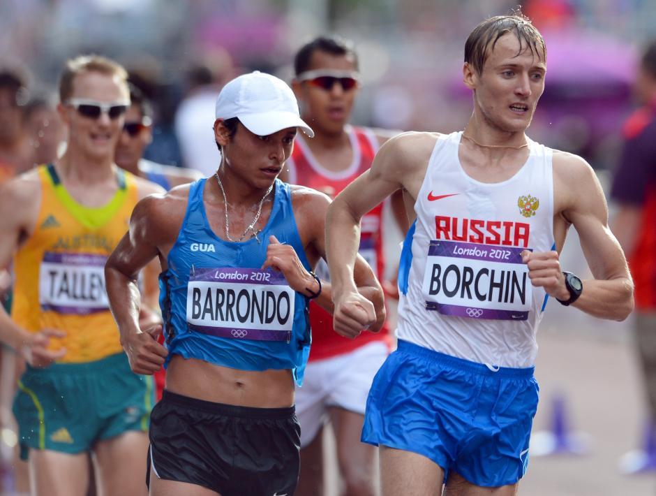 Barrondo compitió en sus primeros Juegos Olímpicos. Llegó con el título de campeón panamericano en 2011.(Foto: Archivo/Nuestro Diario)