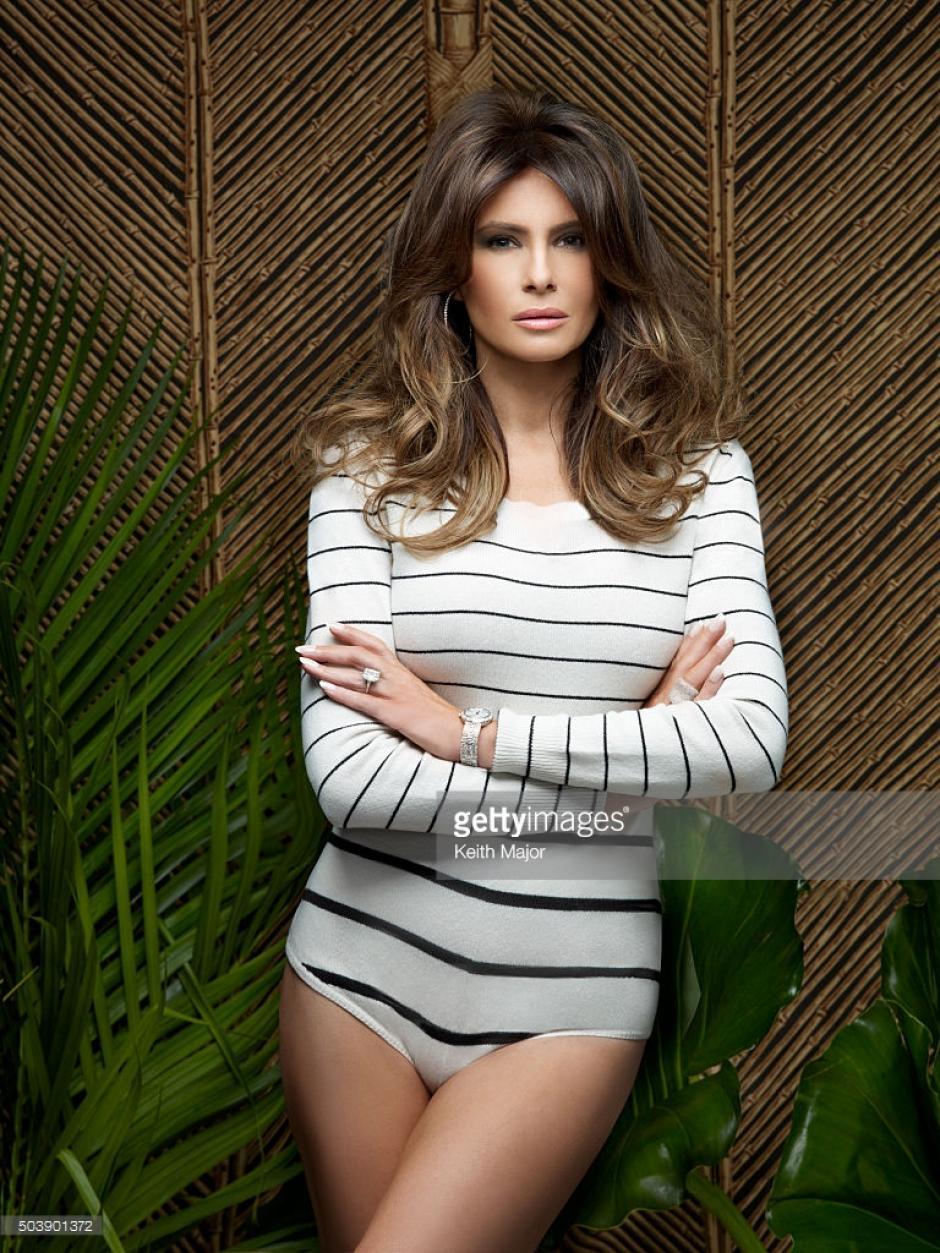 Las fotos sexys de Melania causasn polémica entre los votantes. (Foto: Melania Trump)