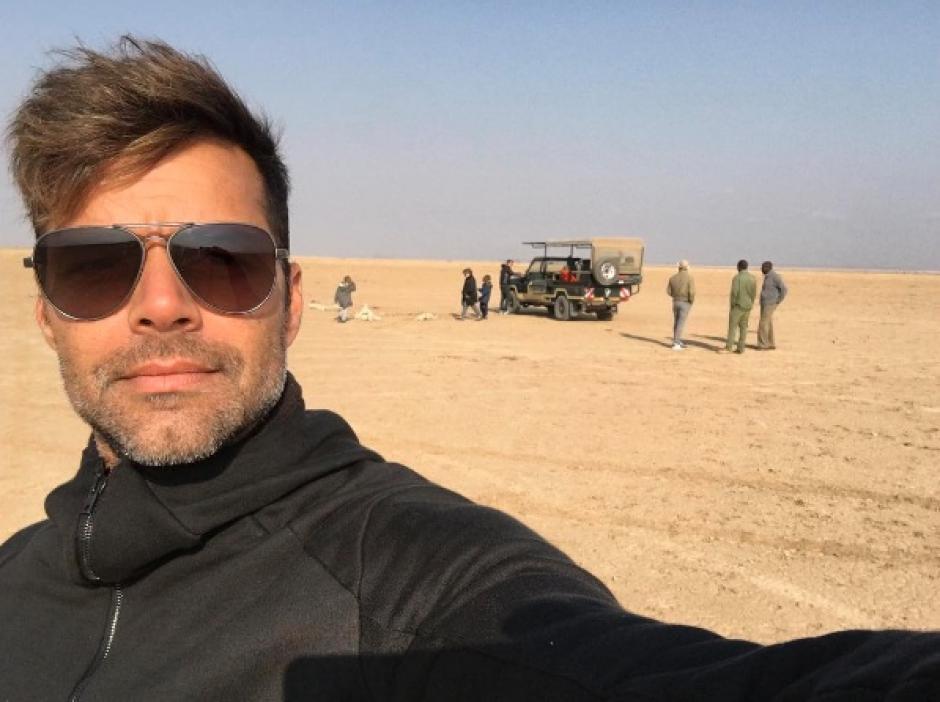 Ricky Martin está de vacaciones por África y comparte las tradiciones de los pueblos que visita. (Foto: Instagram Ricky Martin)