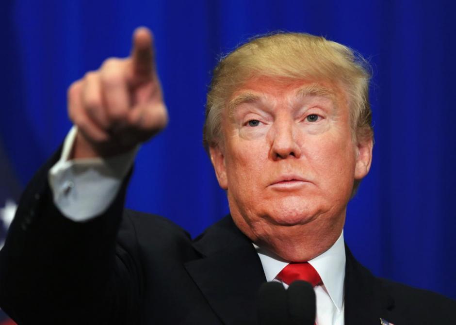 Los medios revelaron el compañero de fórmula antes de que Trump hiciera el anuncio. (Foto: Slate)