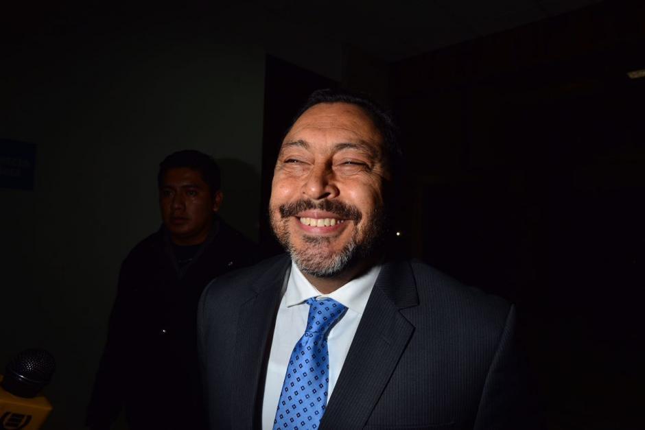 El exministro de Gobernación, Mauricio López Bonilla, ya está listo para declarar. (Foto: Jesús Alfonso/Soy502)